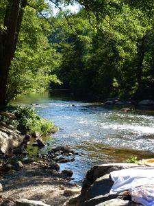activités baignade en Aveyron